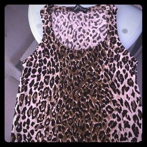 Dolce and Gabbana leopard tank